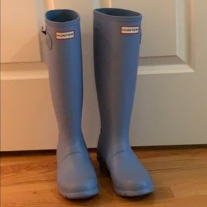 Hunter boots (original) in light blue